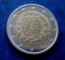 2015 ~ F ~ Germany 2  EURO EIRO - FLAG - CIRCULEET COIN  ALLEMAGNE - Allemagne