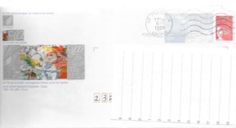 Enveloppe PAP Illustrée AUBUSSON CREUSE 23 Oblitérée 1999 - Enteros Postales