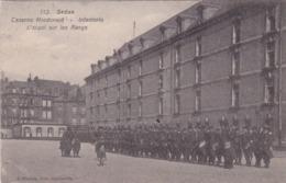 08-Sedan Caserne Mcdonald's-Infanterie-l'Appel Sur Les Rangs - Sedan