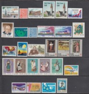 Finland 1973 - Year Set Complete, Mi-Nr. 716/42 Incl. 719y, MNH** - Finland