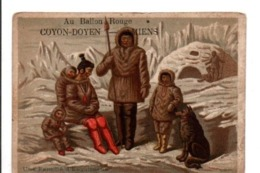 AU BALLON ROUGE COYON-DOYEN à AMIENS - FAMILLE D'ESQUIMAUX - Other