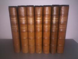 Georges Courteline - Lot De 7 Volumes - Edition Du Trianon, 1930 - Aquarelles Et Dessins De Joseph Hémard - Boeken, Tijdschriften, Stripverhalen