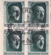 AK Propaganda / Adolf Hitler Porträt / Gedicht Geschrieben Von Anacker Heinrich - Weltkrieg 1939-45