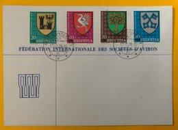 9130 - Enveloppe Fédération Internationale Des Sociétés D'aviron  Lausanne 13.09.1979 - Roeisport