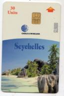 SEYCHELLES Ref MV Cards : SEY-C-01 REV A  30 U La Digue - Seychelles
