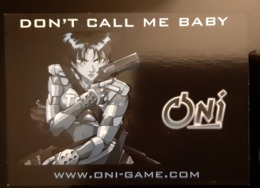 PSP Game Don't Call Me Baby Carte Postale - Pubblicitari
