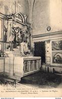 D82  MONPEZAT DE QUERCY  Intérieur De L'Église Chapelle Notre Dame  ..........MONTPEZAT DE QUERCY - Montpezat De Quercy