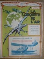 LA CONQUETE DE L'AIR 1932 N°7-ELISABETHVILLE-BRUXELLES : F. JAMAR-RALLYE D'ARDENNE- DO.X-JUNKERS G. 38 -FOKKER F. 32 - AeroAirplanes