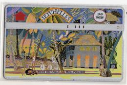 SEYCHELLES Ref MV Cards : SEY-18b 120 U CN 903B MADAME RENE'S HOUSE Année 1992 - Seychelles