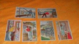 LOT DE 6 CHROMOS OU IMAGES ANCIENNES DATE ?../ LUX LE MEILLEUR DE TOUS LES PRODUITS... - Trade Cards