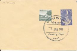 Nepal Postal Uprated Stationery Cover Mt. Everest 3-1-1998 - Nepal