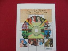 Planche De Timbres Neufs Belgique - Musique En B Majeur - 2008 - Panes