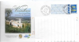 ENVELOPPE PAP ILLUSTREE VENTABREN OBLITEREE 2007 - Enteros Postales