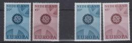 Europa Cept 1967 Netherlands 2v Normal Paper + 2 V Phosphor Paper ** Mnh (45163) - Europa-CEPT