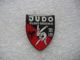 Pin's Du Judo Club D'OBERNAI (Dépt 67) - Judo