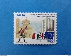 1998 ITALIA FRANCOBOLLO NUOVO STAMP NEW MNH** FIERA INTERNAZIONALE SARDEGNA CAGLIARI - 1991-00:  Nuovi