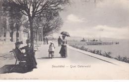 NEUCHATEL, Quai Osterwald  (1J) - NE Neuchatel