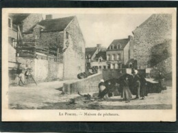 CPA - LE PORTEL - Maison De Pêcheurs, Animé - Le Portel