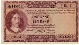 South Africa  P.102b    1 Rand 1965 A-unc - Sudafrica