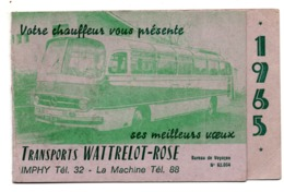 Imphy Autocar Mercedes Wattrelot-Rose 1965 - Petit Format : 1961-70