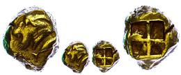 Kyzikos, Elektron Stater (16,14g), 550-500 V. Chr. Av: Ziegenkopf Nach Links, Rechts Thunfisch. Rev: Vierfach Geteiltes  - Antike