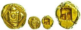 Elektron Halbstater (7,07g), Nach Phokäischem Standard, Ca. 600 V. Chr., Unbestimmte Münzstätte. Av: Erhöhtes Quadrat üb - Antike