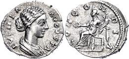 Lucilla, 161-169, Denar (3,10g), Gepr.166 - 169 In Rom. Av. LVCILLA - AVGVSTA. Drapierte Portraitbüste Der Kaiserin Nach - Römische Münzen
