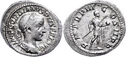 Gordianus III., 238-244, Antoninian (3,11g). Av: Büste Nach Rechts, Darum Umschrift. Rev: Stehender Kaiser In Rüstung Na - Römische Münzen