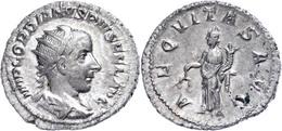 Gordianus III., 238-244, Antoninian (3,44g). Av: Büste Nach Rechts, Darum Umschrift. Rev: Stehende Aequitas Nach Links,  - Römische Münzen