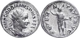 Gordianus III., 238-244, Antoninian (4,26g). Av: Büste Nach Rechts, Darum Umschrift. Rev: Stehender Sol Nach Rechts, Dar - Römische Münzen