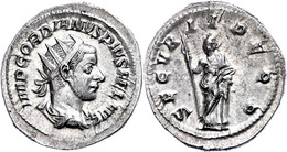 Gordianus III., 238-244, Antoninian (4,33g). Av: Büste Nach Rechts, Darum Umschrift. Rev: Stehende Securitas Nach Links, - Römische Münzen