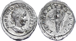 Gordianus III., 238-244, Antoninian (5,07g). Av: Büste Nach Rechts, Darum Umschrift. Rev: Stehende Liberalitas Mit Abacu - Römische Münzen