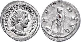 Gordianus III., 238-244, Antoninian (5,10g). Av: Büste Nach Rechts, Darum Umschrift. Rev: Stehende Providentia Nach Link - Römische Münzen