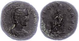 """Otacilia Severa, 249, Sesterz (18,06g). Av: Büste Nach Rechts, Darum Umschrift. Rev: Pudicitia Nach Links, Darum """"PVDICI - Römische Münzen"""