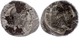 Syrien, Antiochia,  Tetradrachme (11,94g), Gordianus III., 241. Av: Büste Nach Rechts, Darum Umschrift. Rev: Stehender A - Römische Münzen