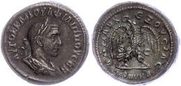 Syrien, Antiochia, Tetradrachme (12,40g), Philippus I. Arabs, 244. Av: Büste Nach Rechts, Darum Umschrift. Rev: Stehende - Römische Münzen