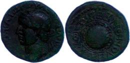 Koinon Der Makedonen, Beroia, Æ-Assarion (7,88g), 69-79, Vespasianus. Av: Kopf Nach Links, Darum Umschrift. Rev: Rundsch - Römische Münzen