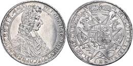 Olmütz, Taler, 1705, Karl III. Von Lothringen, Dav. 1209, Ss-vz.  Ss-vz - Austria