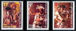 POLYNESIE 1997 - Yv. 533 534 Et 535 ** SUP - Heiva. Costumes De Danse (3 Val.)  ..Réf.POL24698 - Polynésie Française
