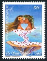 POLYNESIE 1999 - Yv. 578 ** SUP  Faciale= 0,81 EUR - Saint-Valentin  ..Réf.POL24712 - Polynésie Française