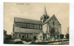 CPA  02 : AMIFONTAINE  église  A  VOIR   !!!! - Autres Communes