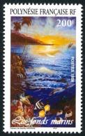 POLYNESIE 1998 - Yv. 570 ** SUP  Faciale= 1,68 EUR - S. Haumani : Les Fonds Marins  ..Réf.POL24709 - Polynésie Française