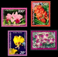 POLYNESIE 1998 - Yv. 560 561 562 Et 563 ** SUP  Faciale= 1,47 EUR - Flore. Orchidées Tropicales (4 Val.)  ..Réf.POL24705 - Polynésie Française