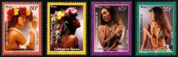 POLYNESIE 1998 - Yv. 566 567 568 Et 569 ** SUP  Faciale= 2,27 EUR - Colliers Coquillages Et Fleurs (4 Val.)  ..Réf.POL24 - Französisch-Polynesien