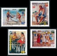 POLYNESIE 1998 - Yv. 574 575 576 Et 577 ** SUP  Faciale= 3,21 EUR - Scènes Quotidiennes (4 Val.)  ..Réf.POL24711 - Polynésie Française