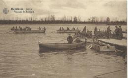 Hemiksem - Hemixem - Génie - Pontage St. Bernard - Papeterie Jos. Smets - 1928 - Hemiksem