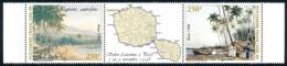 POLYNESIE 1998 - Yv. 572 Et 573 ** Bdf  Faciale= 4,20 EUR - Tryptique Papeete Autrefois  ..Réf.POL24710 - Polynésie Française