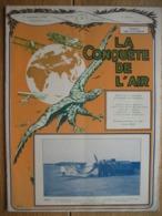 "LA CONQUETE DE L'AIR 1932 N°9 -Rallye Du ZOUTE-TRAVERSEE ATLANTIQUE: MOLLISON-PHOTOS LEOPOLDVILLE-DORNIER ""DO.K"" - AeroAirplanes"