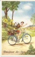 Bonjour De Spa Cycliste Velo - Spa