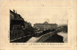 CPA Rive De Gier- Hotel De Ville, Le Canal Et Le Pier FRANCE (907197) - Rive De Gier